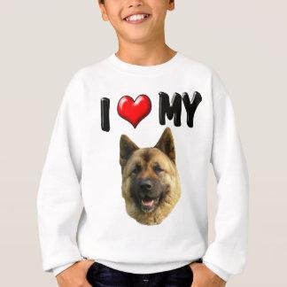 Jag älskar min Akita T-shirt