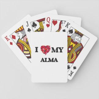 Jag älskar min Alma Casinokort