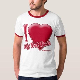 Jag älskar min älsklings- sten t-shirts