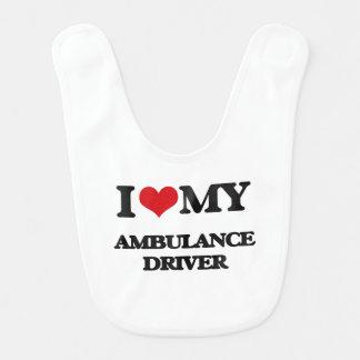 Jag älskar min ambulanschaufför hakklapp