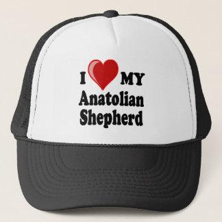 Jag älskar min Anatolian herdehund Truckerkeps