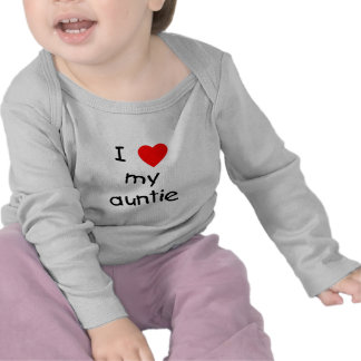Jag älskar min Auntie Tshirts