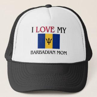 Jag älskar min barbadiska mamma keps