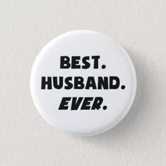 Jag älskar min bäst make för världar någonsin mini knapp rund 3.2 cm