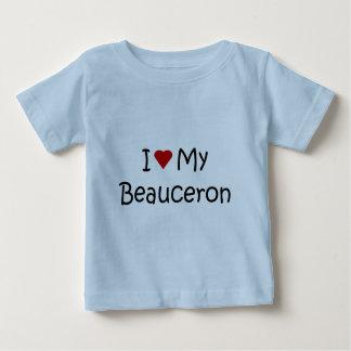 Jag älskar min Beauceron hund älskaregåvor och T-shirts