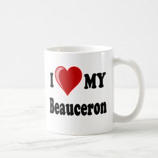 Jag älskar min Beauceron hund Kaffemugg