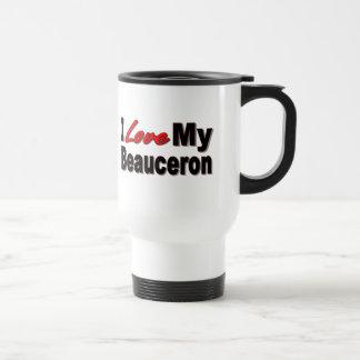 Jag älskar min Beauceron Merchandise Resemugg