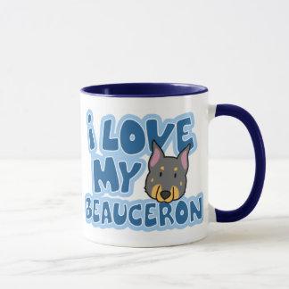 Jag älskar min Beauceron mugg