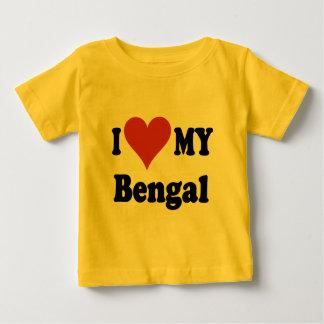 Jag älskar min Bengal kattgåvor och dräkt Tröja