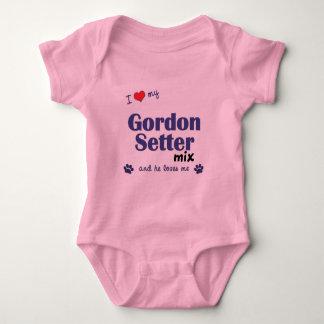 Jag älskar min blandning för den Gordon setteren T Shirts