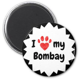 Jag älskar min Bombay katt Magnet