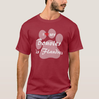 Jag älskar min Bouvier des Flandres T Shirt
