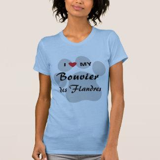 Jag älskar min Bouvier des Flandres Tshirts