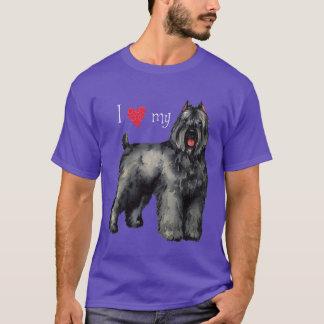 Jag älskar min Bouvier T Shirts