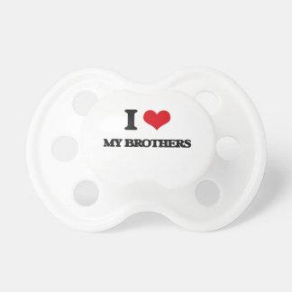 Jag älskar min bröder napp