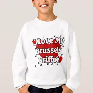 Jag älskar min Bryssel Griffon Tshirts
