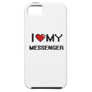 Jag älskar min budbärare iPhone 5 Case-Mate fodraler