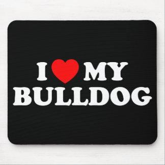 Jag älskar min bulldogg Mousepad Musmatta