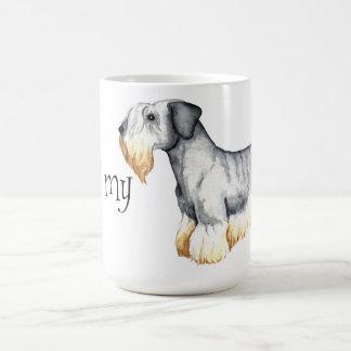Jag älskar min Cesky Terrier Kaffemugg