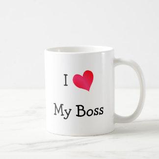 Jag älskar min chef kaffe koppar