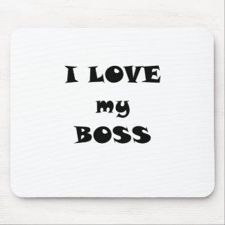 Jag älskar min chef mus matta