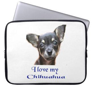 Jag älskar min Chihuahua Laptop Fodral