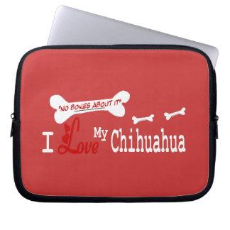 Jag älskar min CHIHUAHUA Laptop Sleeve