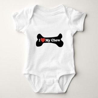 Jag älskar min Chow - hundben T Shirts