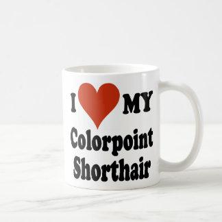 Jag älskar min Colorpoint Shorthair Kaffemugg