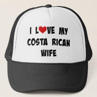 Jag älskar min costarikanska fru keps