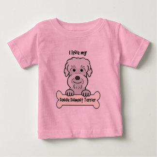 Jag älskar min Dandie Dinmont Terrier Tee