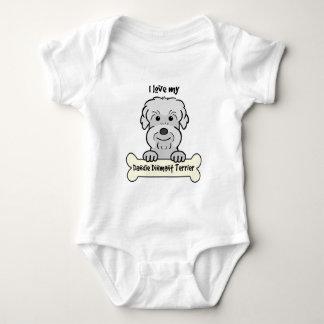 Jag älskar min Dandie Dinmont Terrier Tshirts