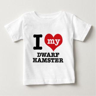 Jag älskar min dvärg- hamster tee shirts