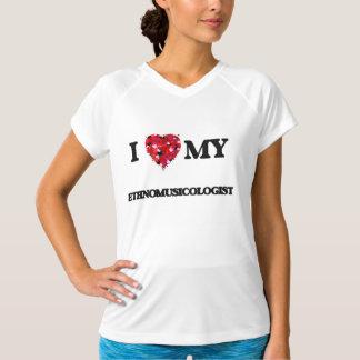 Jag älskar min Ethnomusicologist T Shirt