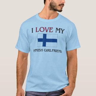 Jag älskar min finlandssvenska flickvän tröjor
