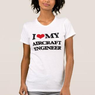 Jag älskar min flygplaningenjör t-shirts