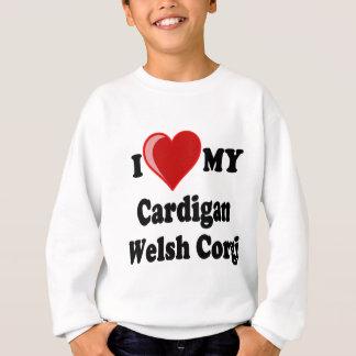 Jag älskar min för Corgihund älskare för koftan Tee Shirt
