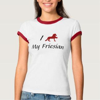 Jag älskar min Friesian Tee