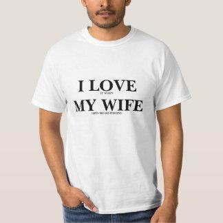 Jag älskar min fru - FISKE Tee Shirt