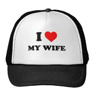 Jag älskar min fru keps