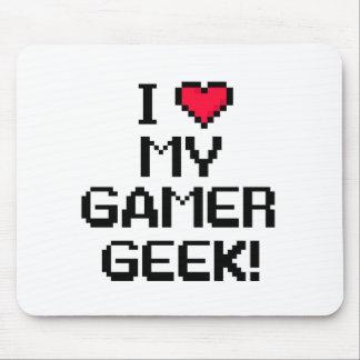 Jag älskar min GamerGeek Mus Matta