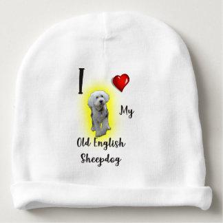 Jag älskar min gammala engelska Sheepdog