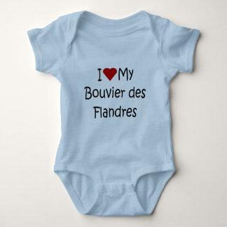 Jag älskar min gåvor för hund älskare för Bouvier Tröja