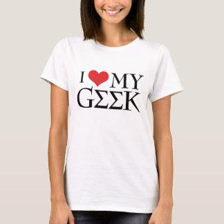 Jag älskar min Geek T-shirts