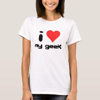 jag älskar min geek tshirts