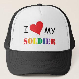 jag älskar min GLADA soldatHATT! Keps