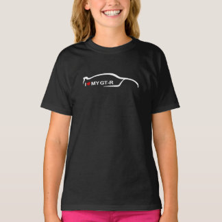 Jag älskar min GT-r - Nissan horisont GT-r T-shirt