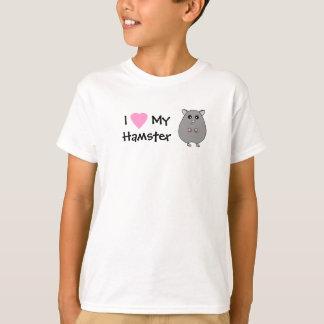 Jag älskar min HamsterflickaT-tröja Tröjor