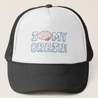 Jag älskar min hjärna truckerkeps