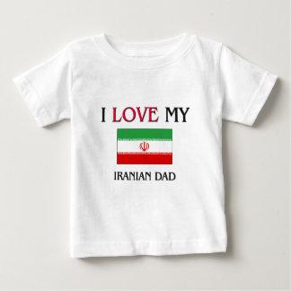 Jag älskar min iranska pappa tee shirt